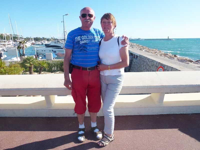 Am Hafen von Cannes