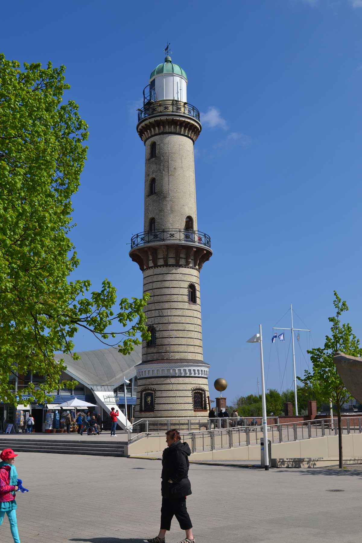 Der Leuchtturm von anno1898