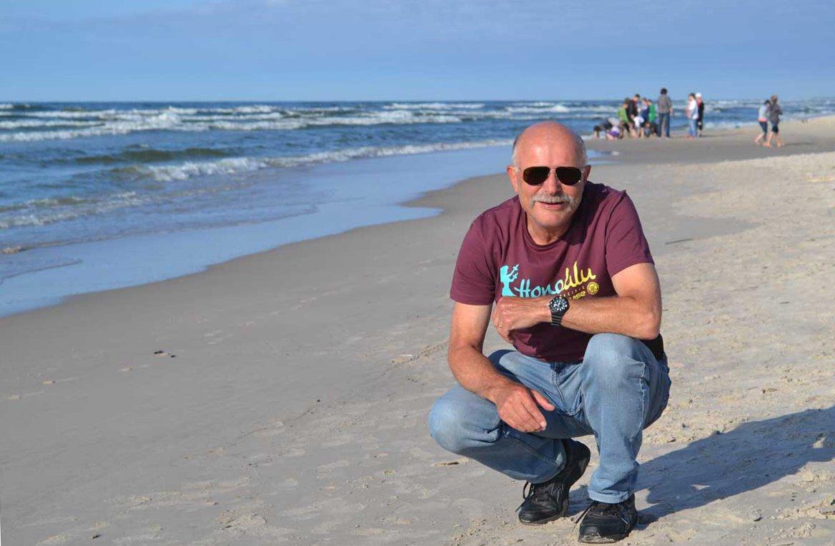 Am Strand von Leba