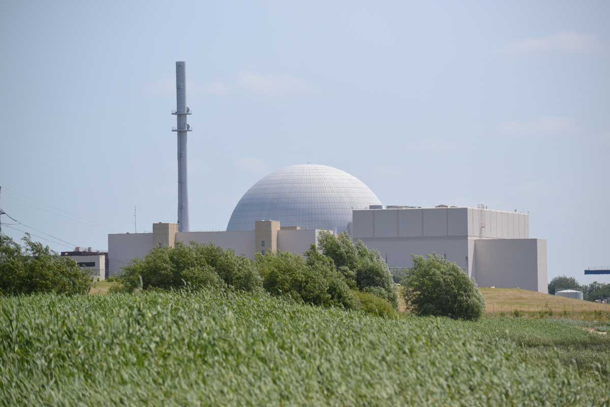 Brokdorf Kernkraftwerk