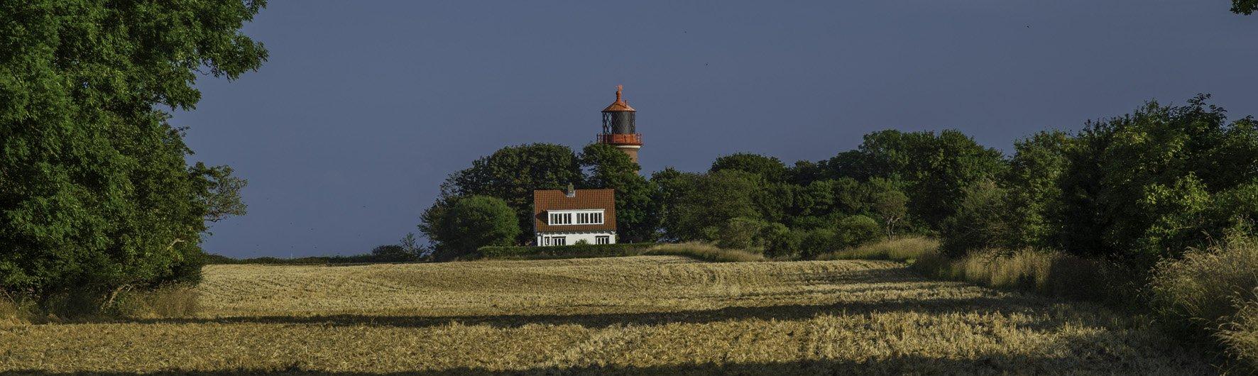 Flügger Leuchtturm - Fehmarn, foto: h.dietrich habbe