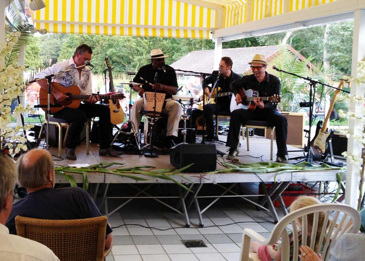 """""""Big Daddy"""" Wilson und seine Bluesband"""