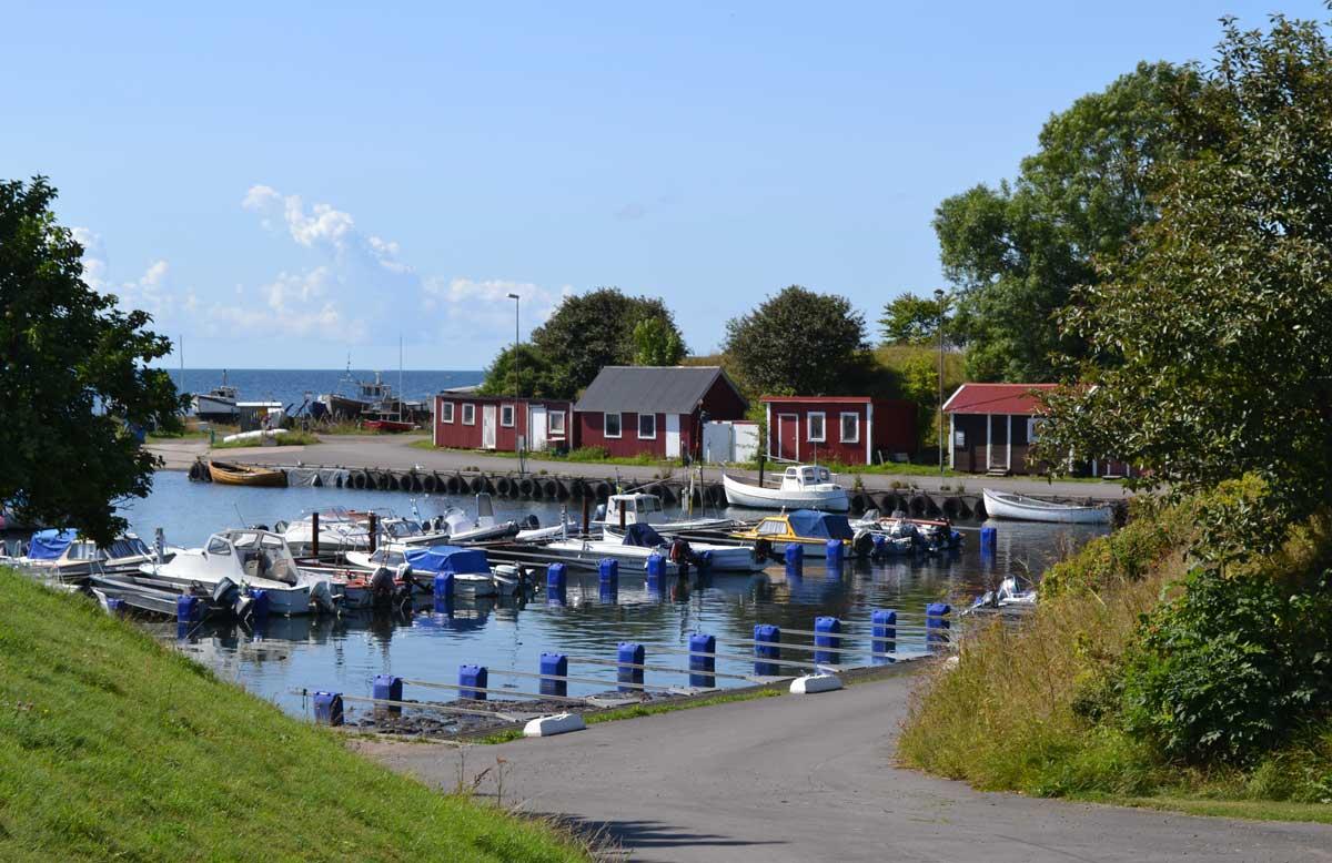Der kleine Hafen von Smygehuk