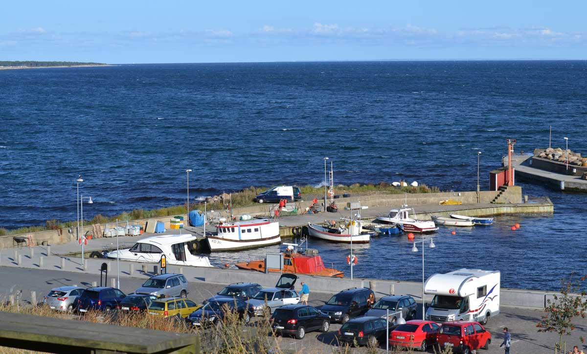 Der Hafen von Kåseberga