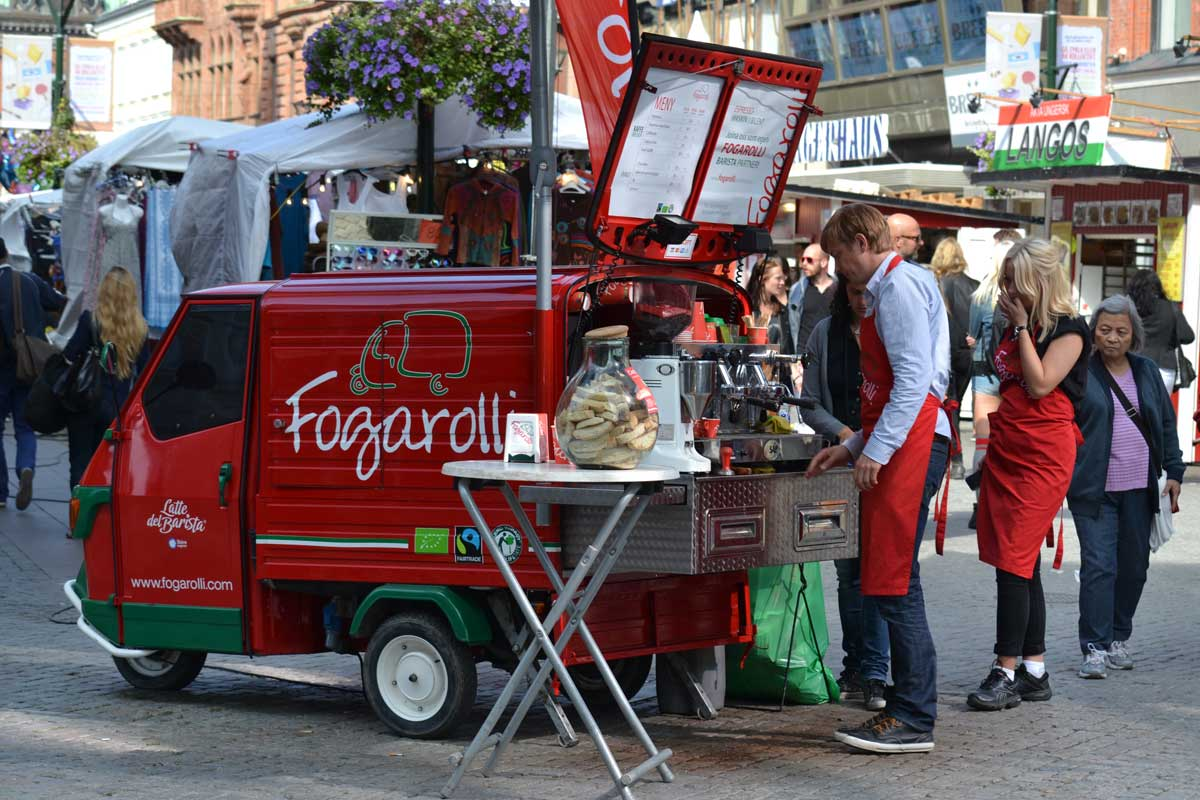 Mobiler Coffeeshop