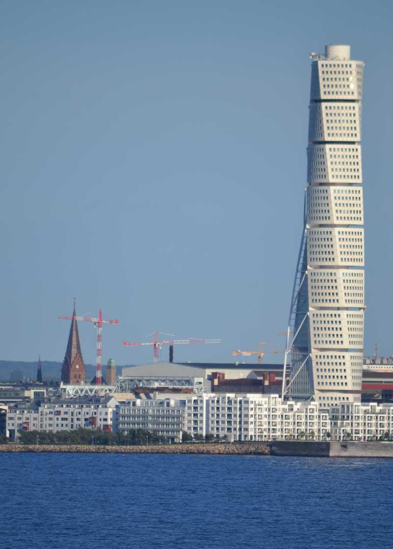 """""""Turning Torso"""" Hochhaus in Malmö"""