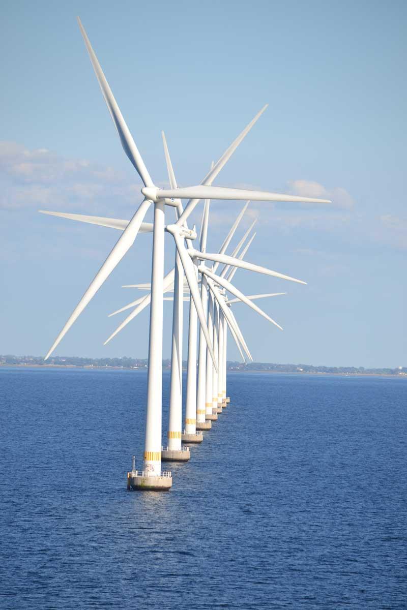 Windpark vor Malmö
