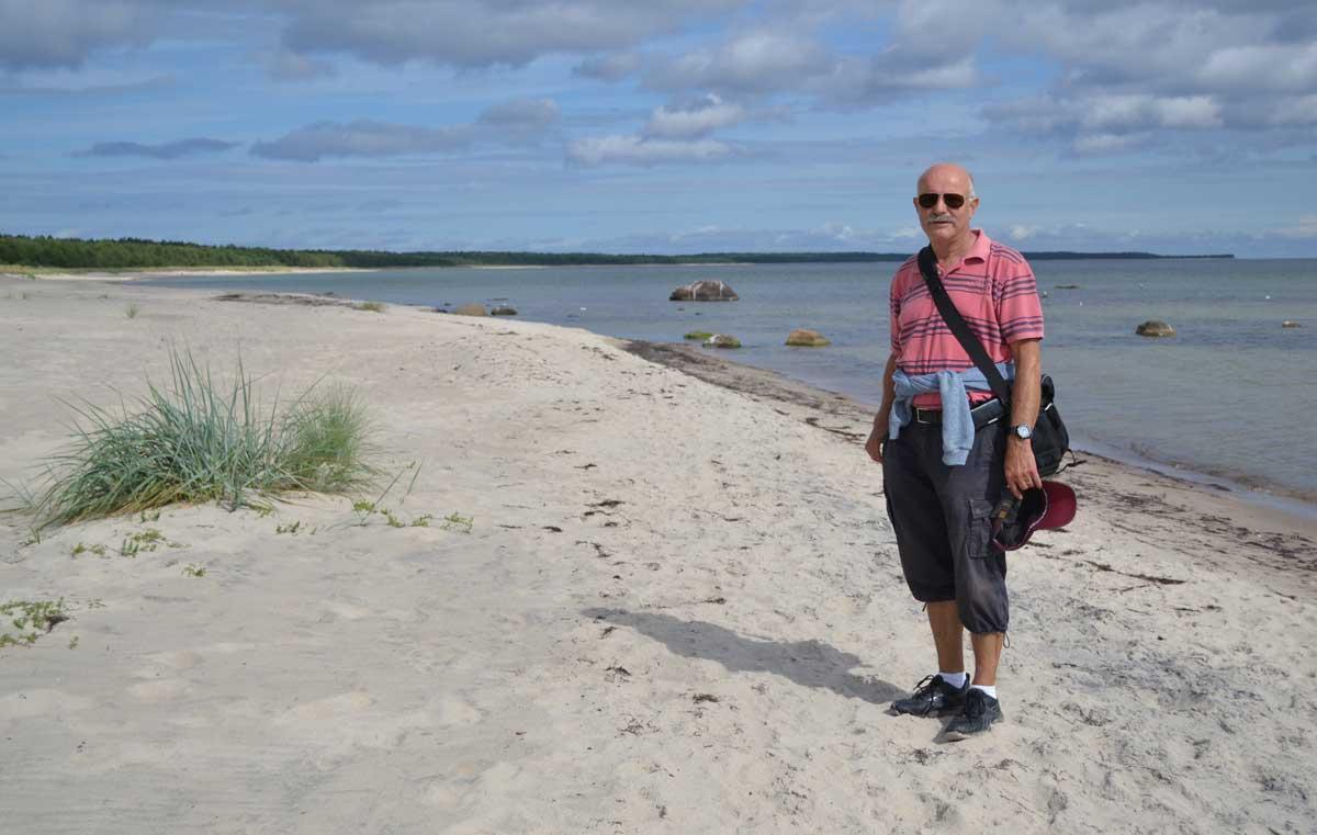 Am Strand von Böda-Sand