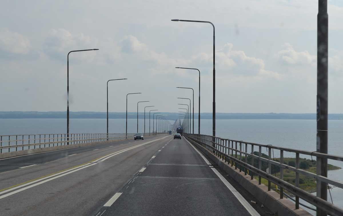 Auf der Brücke gen Öland
