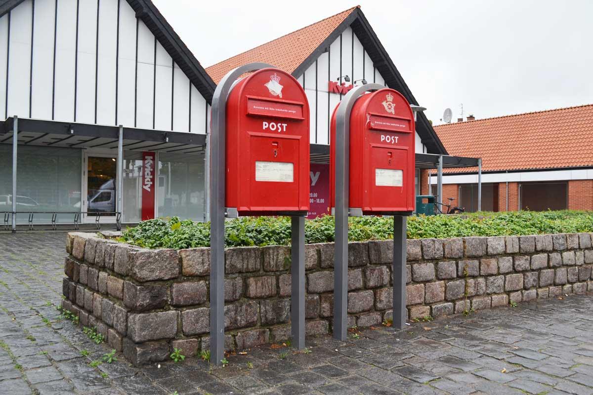 Rote Briefkästen - wie in England