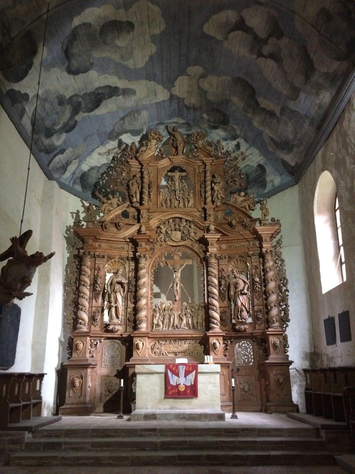 Altar im Kloster Ilsenburg