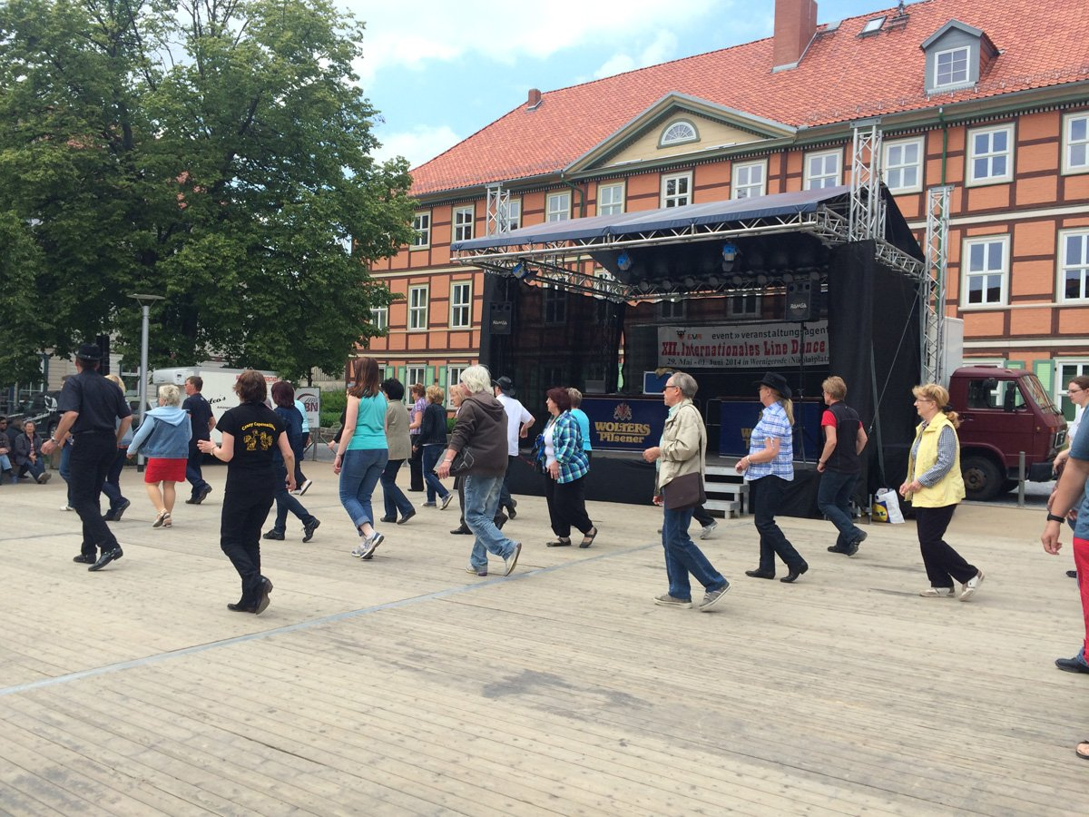 Line Dance in Wernigerode