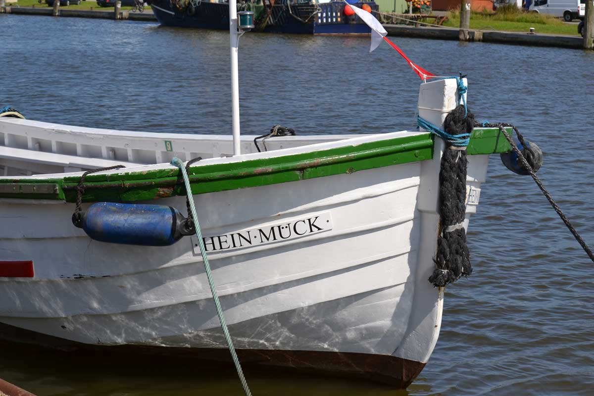 Hafenscene in Büsum