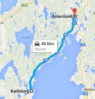 Karlsborg - Askersund