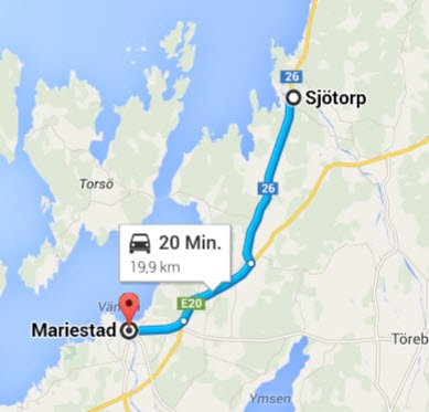 Mariestad - Sjoetorp