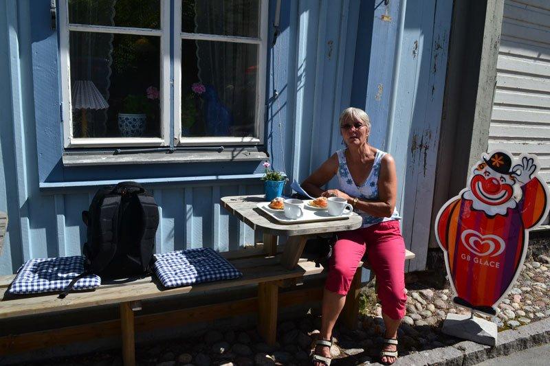 """Cafe """"Die Blaue Katze"""" (Blå Katten)"""