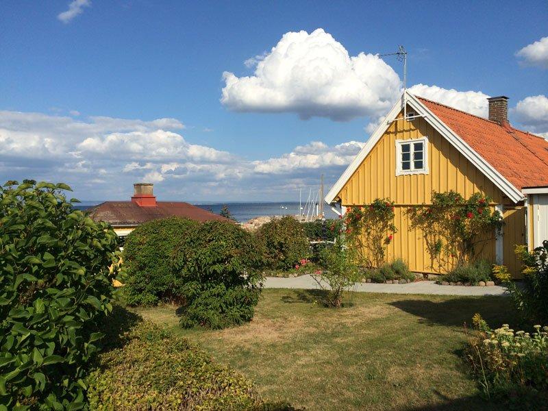 Wunderschöne Häuser mit toller Aussicht in Arild