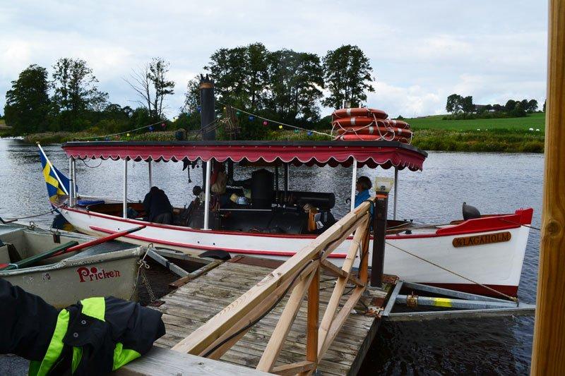 Dampfboot SS Lagaholm