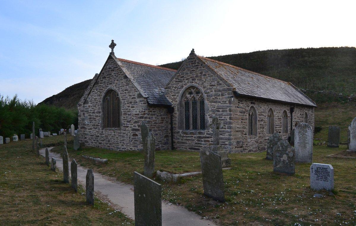 Gunwalloe Kirche