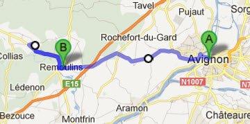 Avignon - Remoulins