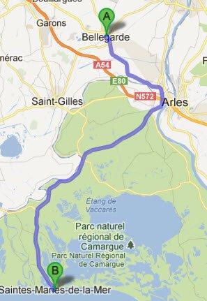 Bellegarde - Sts Maries de la Mer