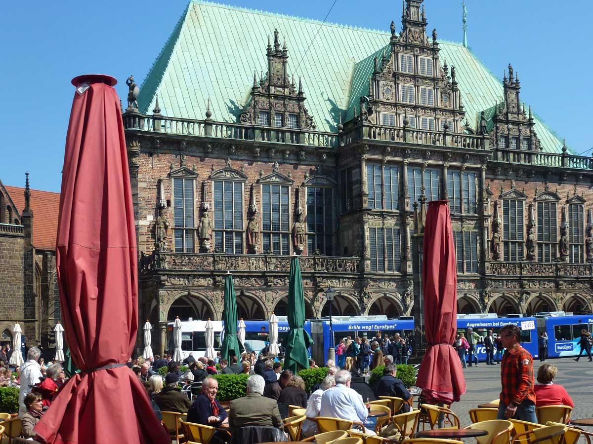 Das beeindruckende Bremer Rathaus
