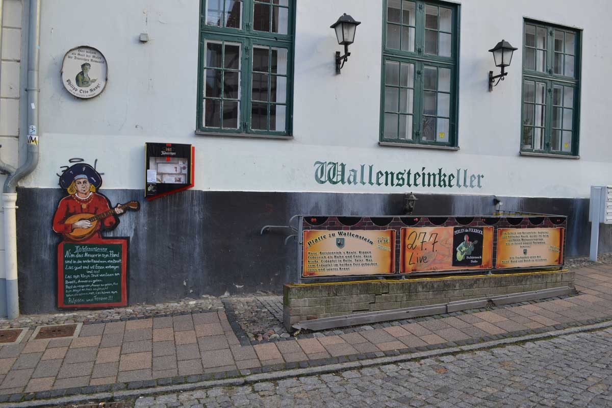 Das Wallenstein Restaurant