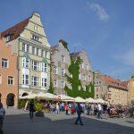 Der Marktplatz in Allenstein
