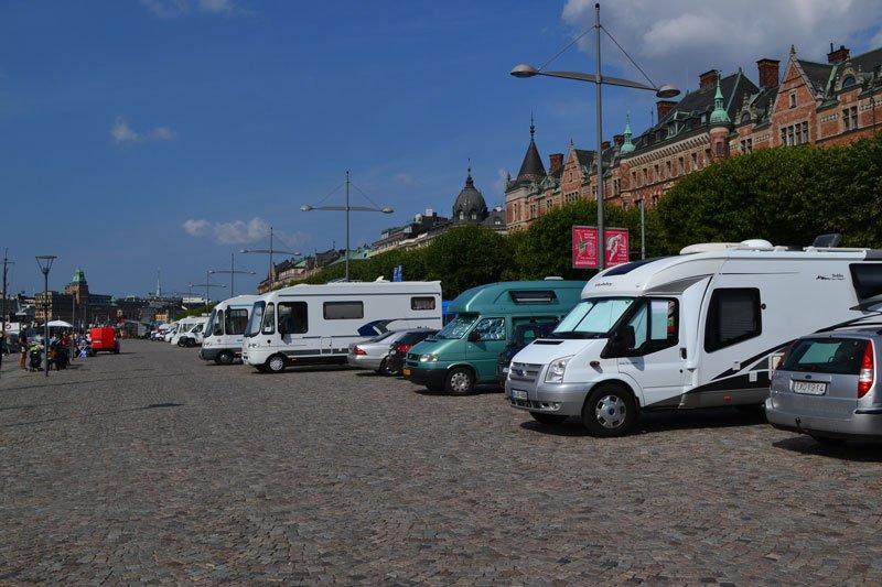 Wohnmobilstellplatz Stockholm-Zentrum
