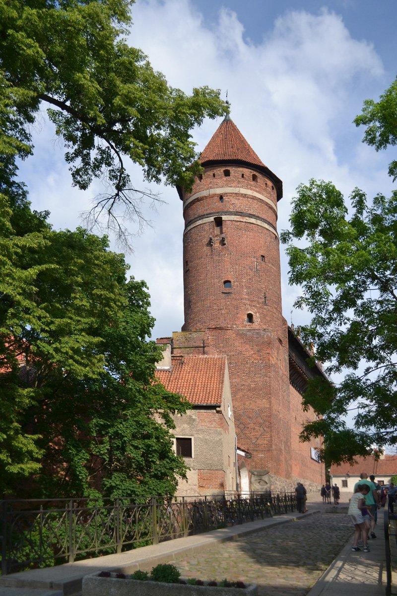 Der Wehrturm beim Ermland-Masuren-Museum