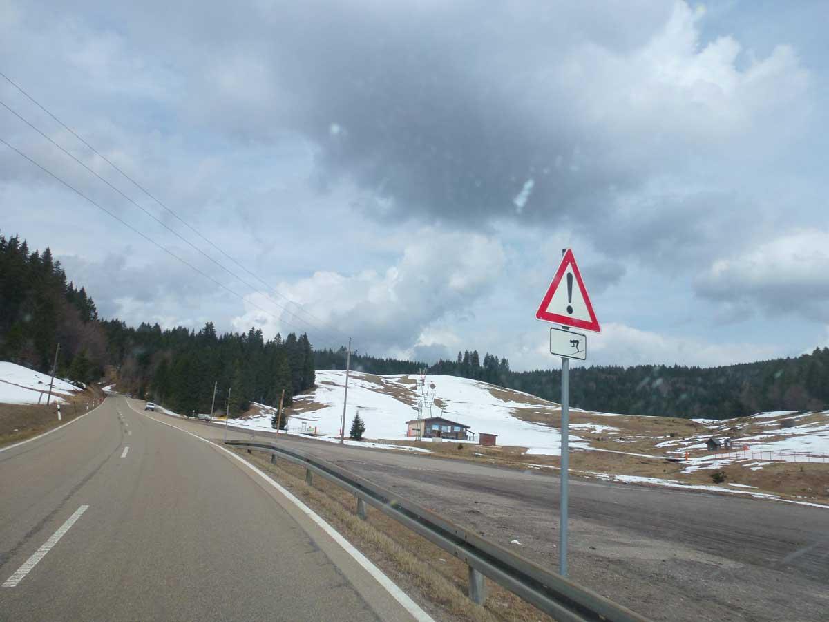 Mitte April durch das Schwarzwälder Skigebiet