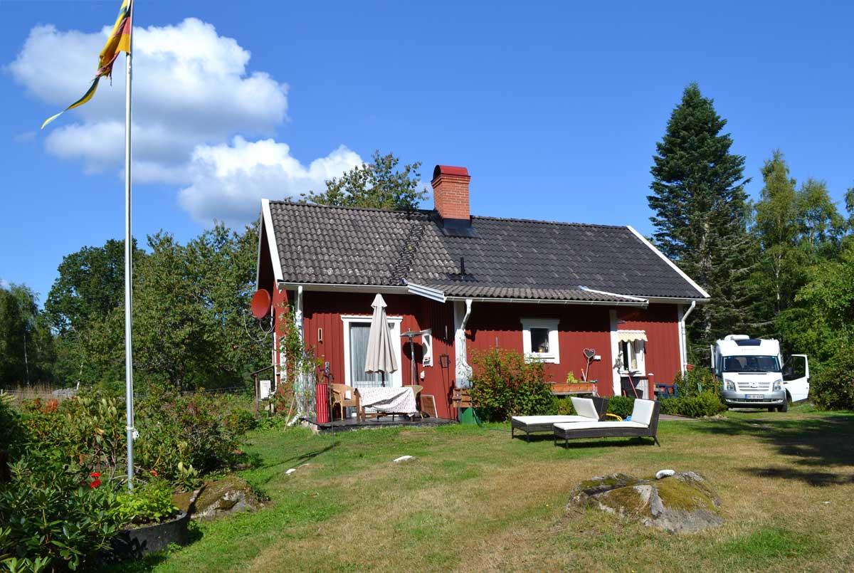 Das schöne Haus in Hätteboda
