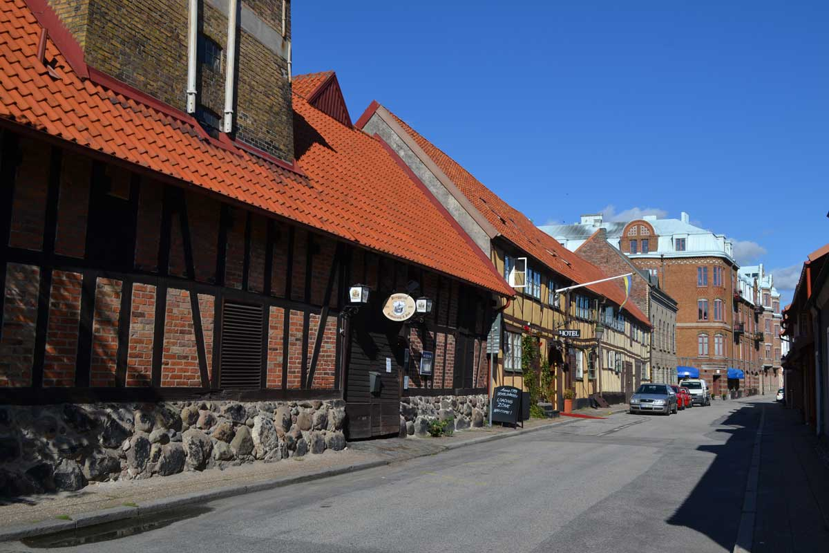 Gut erhaltene Fachwerkhäuser