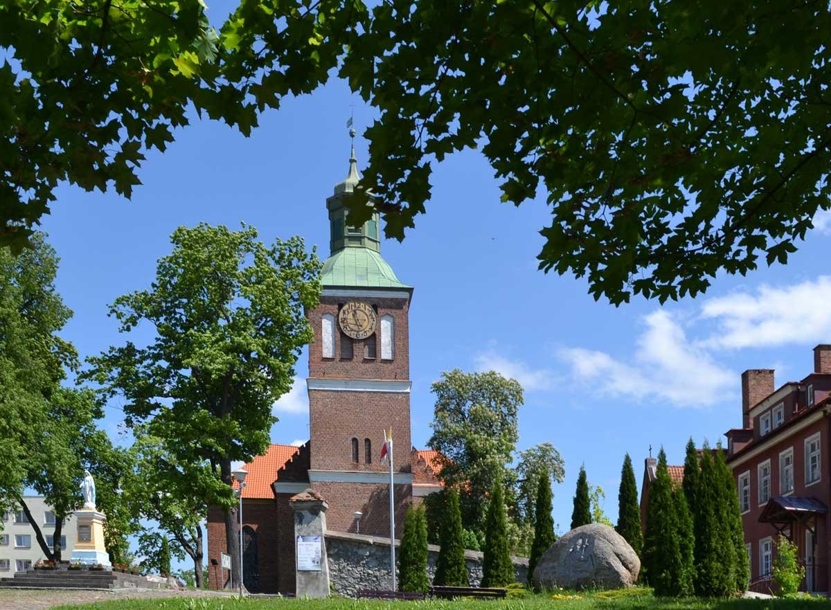 Kirche in Wegorzewo-Angerburg