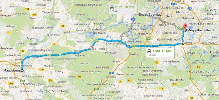 Magdeburg - Berlin