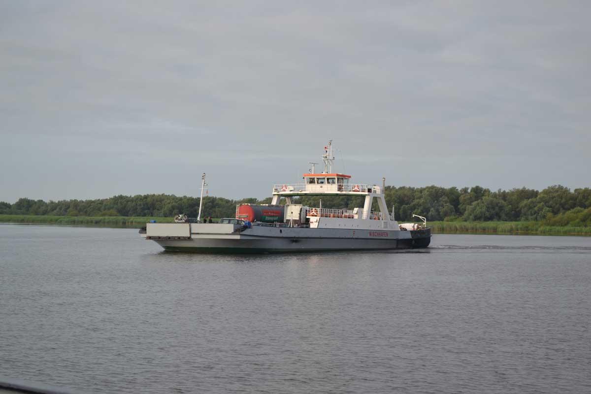 Wischhafen Fähre