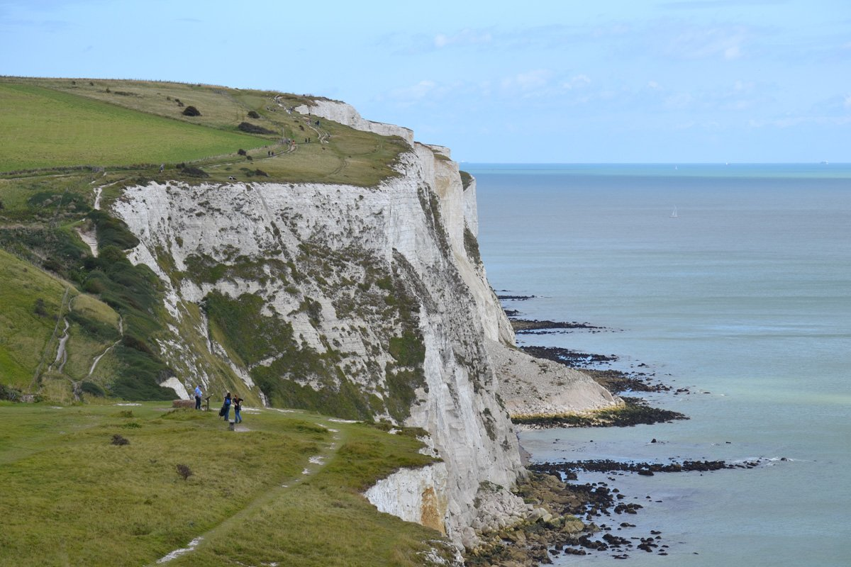 "The ""White Cliffs"" of Dover"