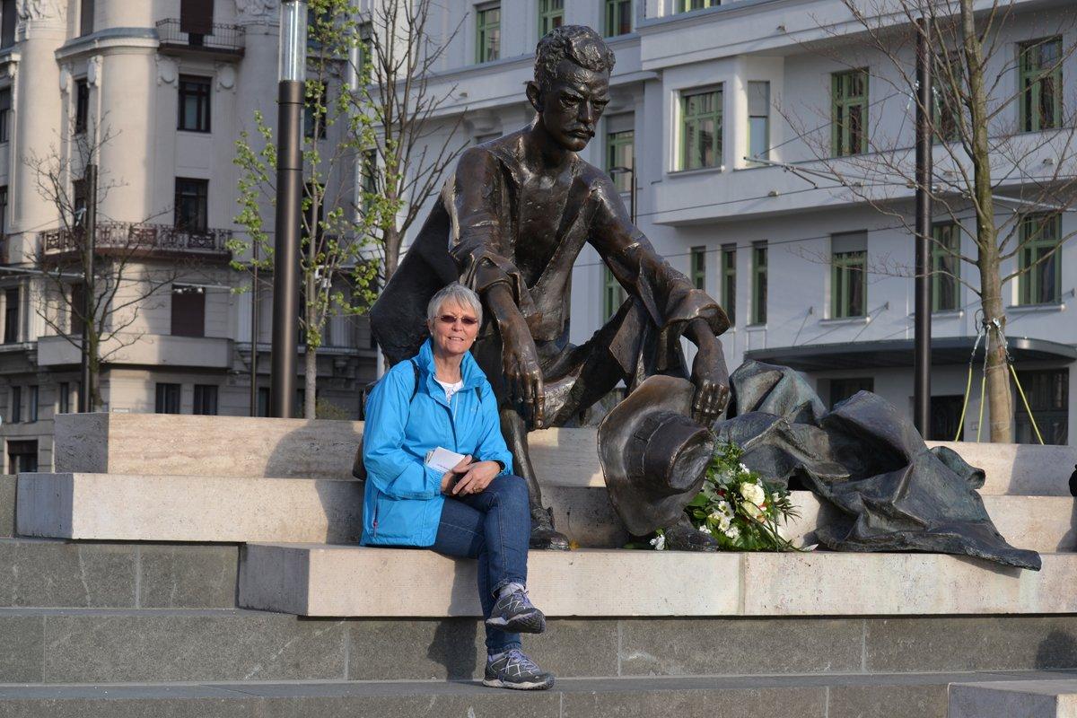 Arbeiterdenkmal vor dem Parlament