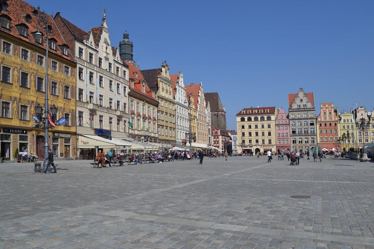 Der Salzplatz in Breslau
