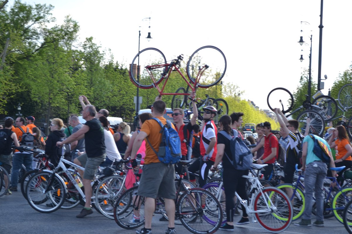 Ende des Fahrradmarathons