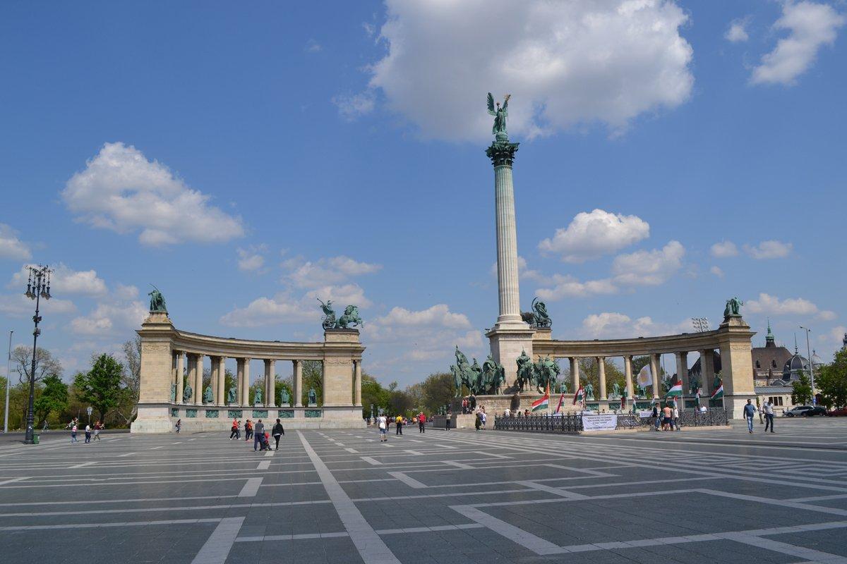Heldenplatz am Stadtwäldchen