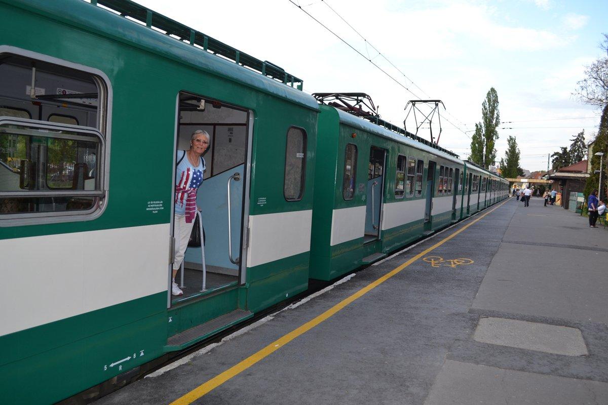 zurück nach Budapest