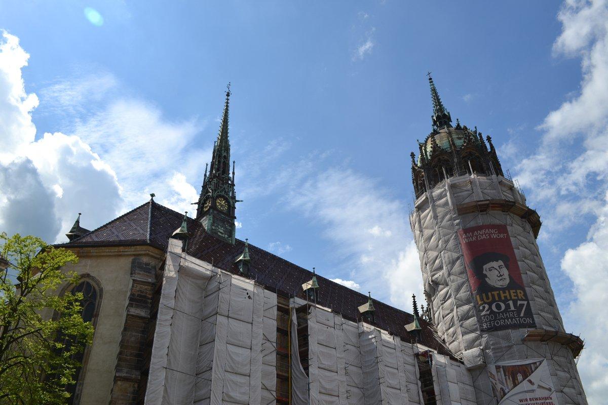 Die verpackte Schlosskirche