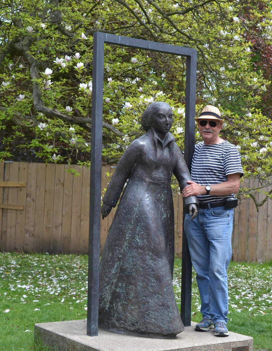 Frederick mit Frau Luther