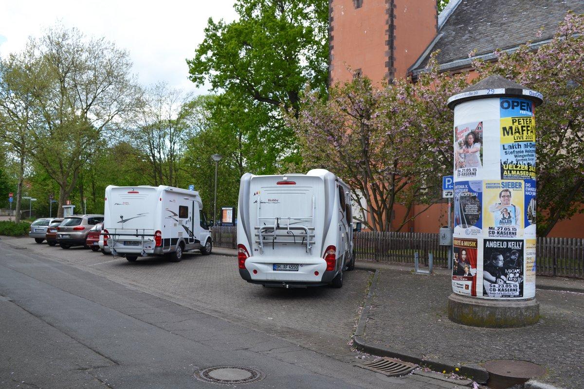 Kostenloser Stellplatz in Celle am französischen Garten