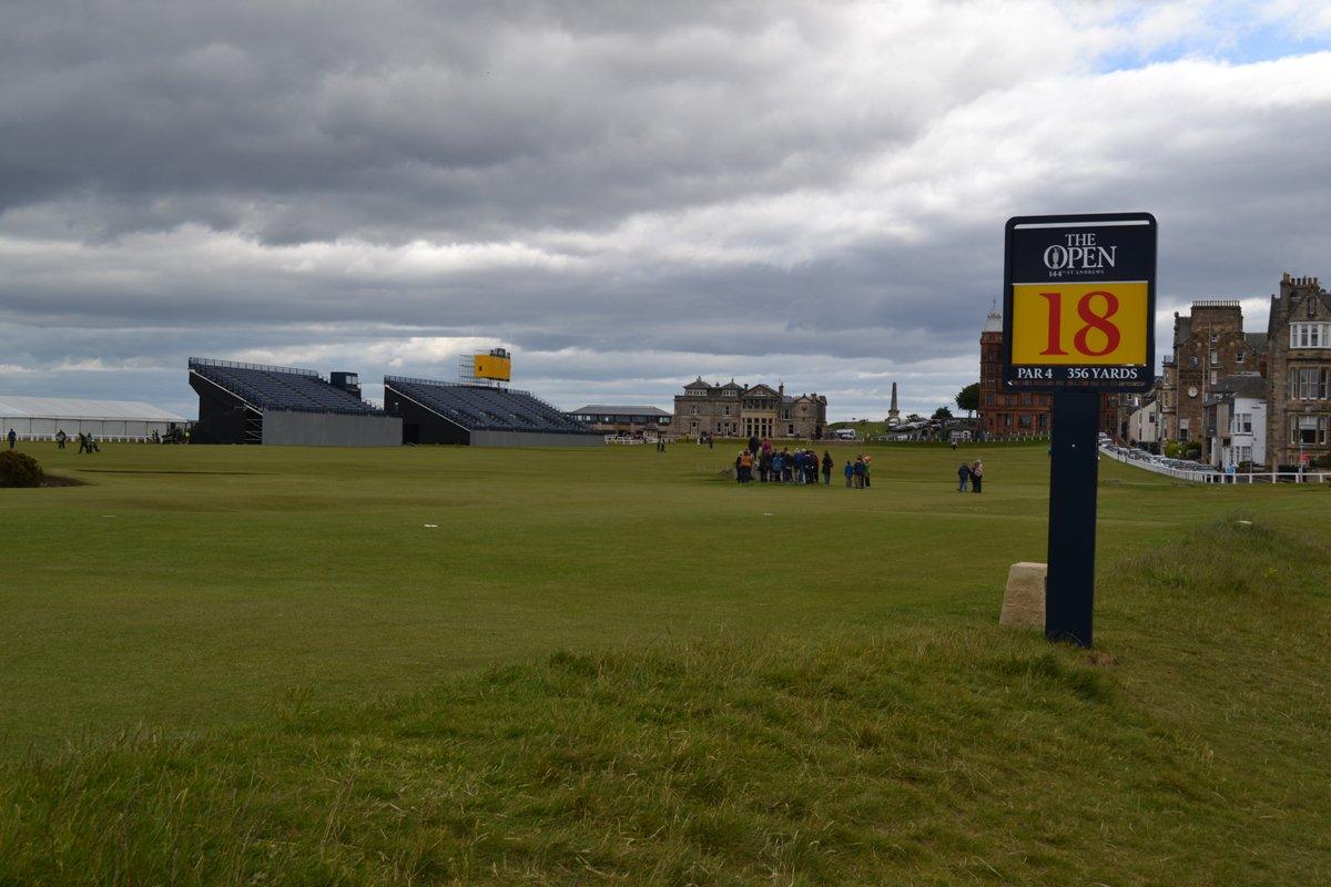 18. Abschlag in St. Andrews