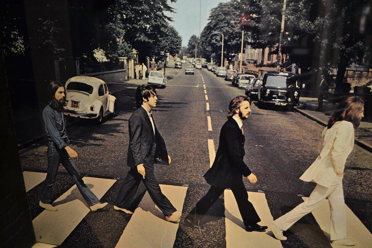 Die berühmte Abbey Road Szene