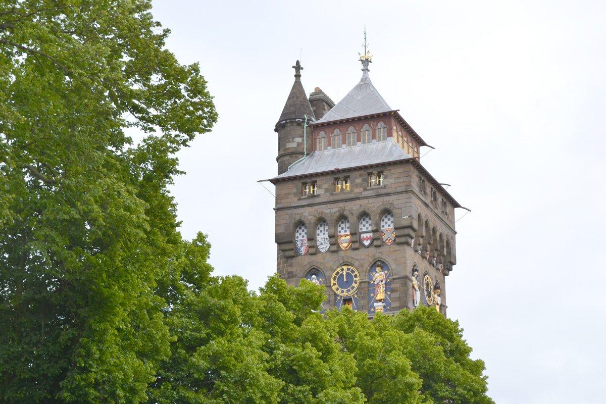 Cardiff Castle Wehrturm