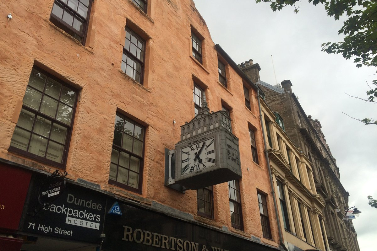 Dundee Gebäudefassade