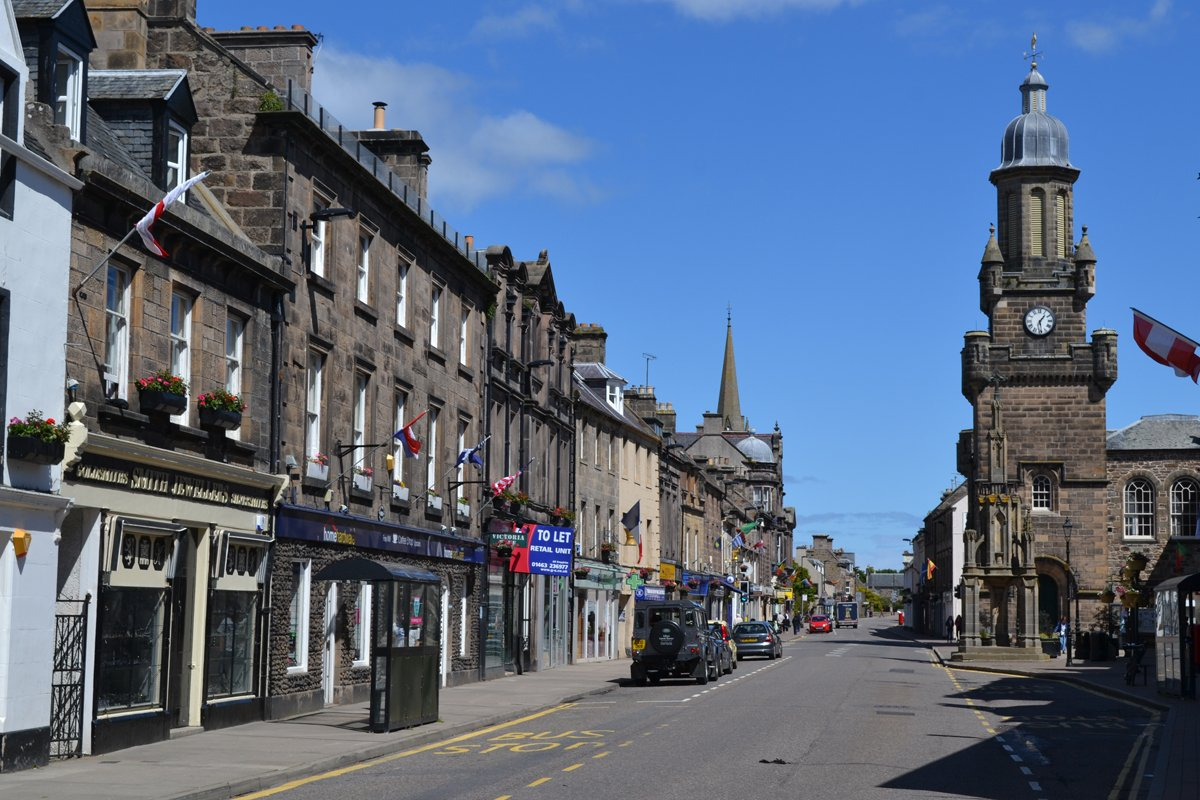 Hauptstrasse in Forres